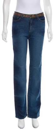 Just Cavalli Mid-Rise Jeans