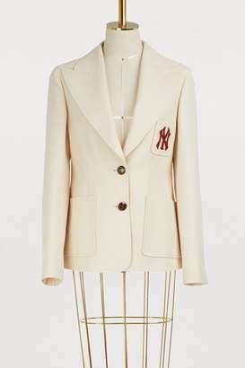 Gucci NY wool blend jacket