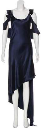 Juan Carlos Obando Silk Evening Dress