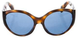 Cutler and Gross Round Tortoiseshell Sunglasses