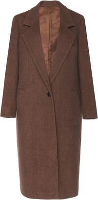 Joseph Captain Chevron Wool-Blend Coat