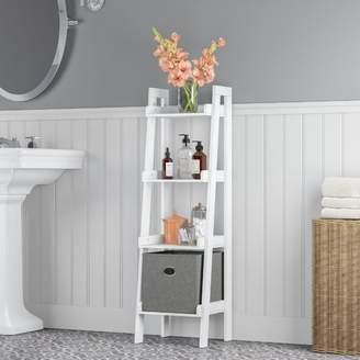 "Ebern Designs Ilovici 13"" W x 44"" H Bathroom Shelf"