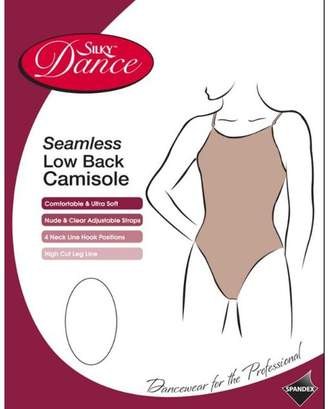 Silky Big Girls'Seamless Low Back Camisole For Dance