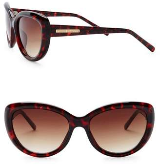 Vince Camuto Cat Eye 55mm Acetate Frame Sunglasses