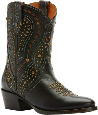 Frye Kelsea Stud Short Leather Boot