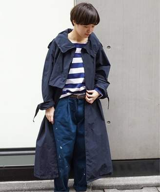 Journal Standard (ジャーナル スタンダード) - journal standard luxe 【ATON/エイトン】 AIR VENTILE FLARE TRENCH COAT◆