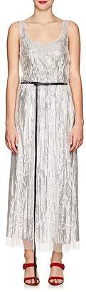 Marc Jacobs Women's Sequined Belted Midi-Dress