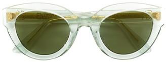 Emmanuelle Khanh round frame sunglasses