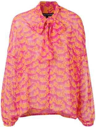 812e62f9 Luisa Cerano zebra print blouse