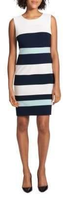 Tommy Hilfiger Colorblocked Sheath Dress