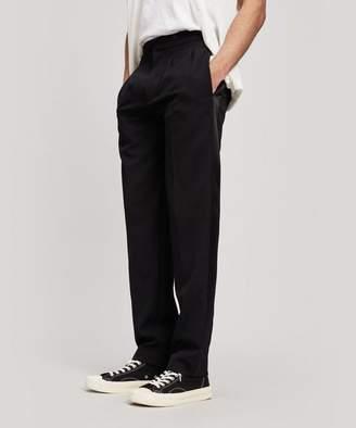 Wool-Blend Tuxedo Trousers