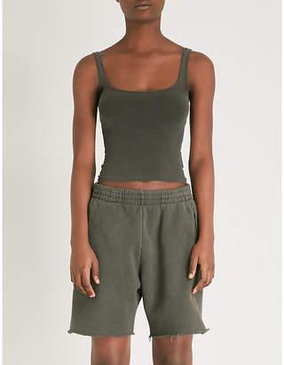 Yeezy Season 6 cotton-jersey sleeveless top