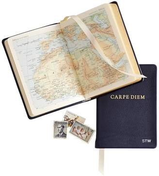 Mark And Graham Leather Bound Carpe Diem Atlas