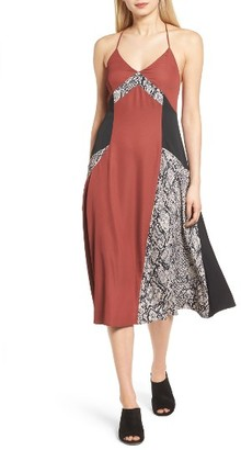 Women's Trouve Colorblock Slipdress $89 thestylecure.com