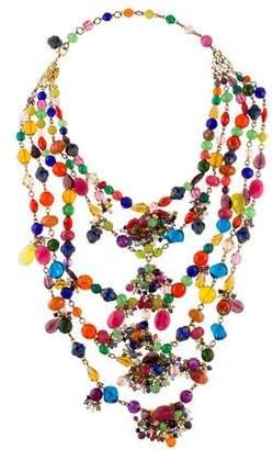 Erickson Beamon Crystal Multistrand Necklace