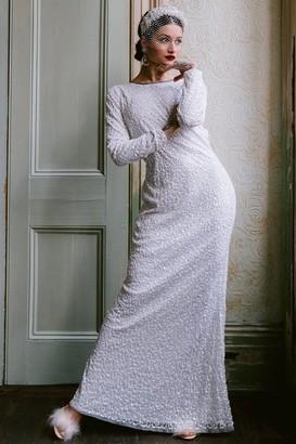 Pandora Rock N Roll Bride Rock n Roll Bride White Embellished Maxi Dress