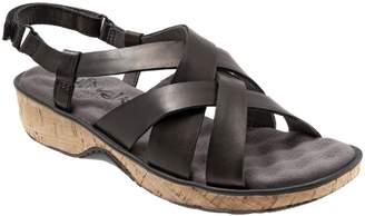 SoftWalk R) Bonaire Cross Strap Sandal