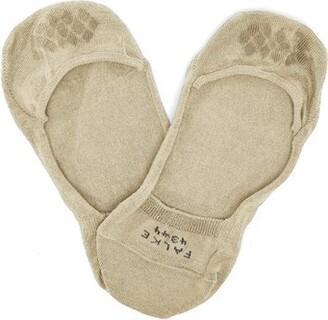 Falke Cool 24/7 Technical Cotton Blend Trainer Socks - Mens - Camel