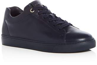 Harry's of London Men's Tom Leather Lace Up Sneakers