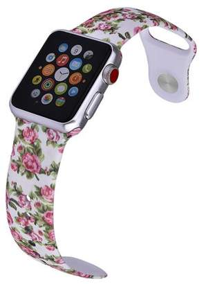 LAX Gadgets LAX Apple Watch 38mm Sport Ultra Soft Silicone Band - Rose - for Apple Watch Series 3, 2, 1, Sport