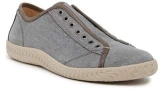 John Varvatos Collection Laceless Low Top Denim Sneaker
