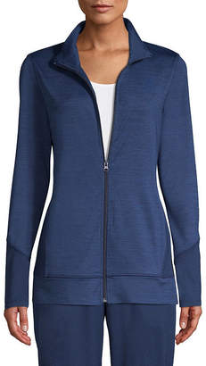 ST. JOHN'S BAY SJB ACTIVE Active Track Jacket - Tall
