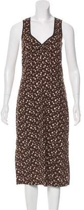 Dolce & Gabbana Embroidered Midi Dress