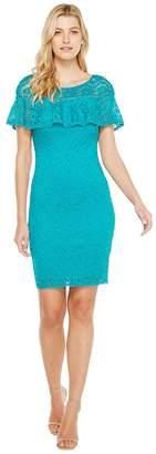 Laundry by Shelli Segal Stretch Lace Dress Women's Dress