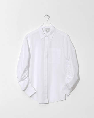 3.1 Phillip Lim Shirt w/ Gathered Sleeve