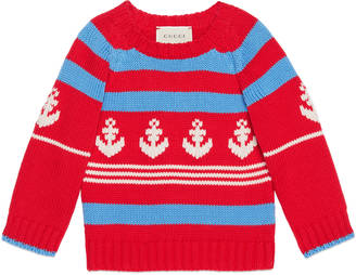 Baby cotton sweater with anchor $330 thestylecure.com