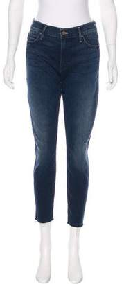 Mother Double Fray Chamber Crop Jeans
