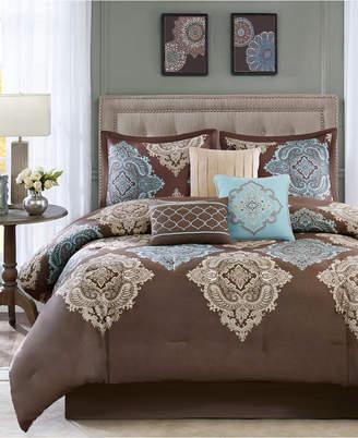 Monroe Madison Park 7-Pc. Queen Comforter Set