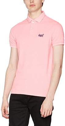 Superdry Men's Classic New Fit Polo Shirt,Large