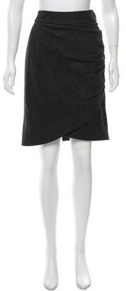 Robert Rodriguez Gathered Knee-Length Skirt