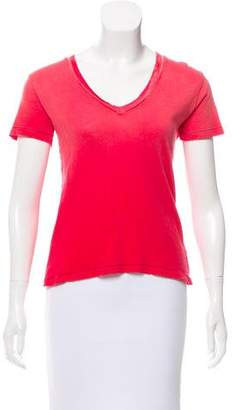 Current/Elliott Short Sleeve V-Neck Top