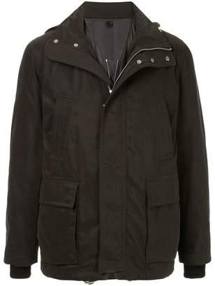Cerruti field hooded jacket