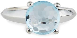 Ippolita Rock Candy Single-Stone Knife-Edge Ring in Blue Topaz