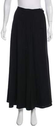 Dries Van Noten Wrap Maxi Skirt