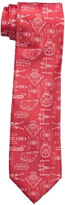 Star Wars Men's Line Drawing Tie