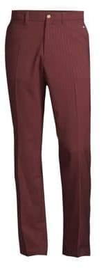 J. Lindeberg Golf Pinstripe Pants