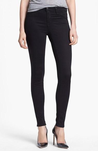 J Brand '485' Mid Rise Super Skinny Jeans