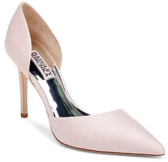 Badgley Mischka Women's Lola Silk High-Heel Pumps