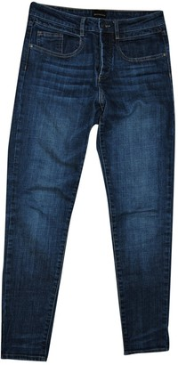 Berenice Blue Cotton Jeans for Women