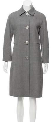 Michael Kors Knee-Length Wool Coat