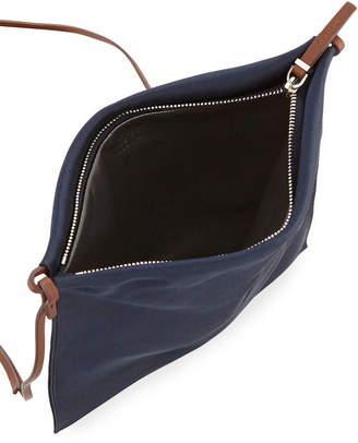 The Row Medicine Large Satin Pouch Bag