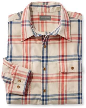 L.L. Bean L.L.Bean Signature Castine Flannel Shirt, Plaid