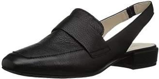 Kenneth Cole Reaction Women's Bavi Wide Width Menswear Inspired Slingback Loafer Flat