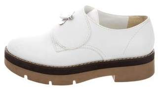 Alexander Wang Round-Toe Leather Oxfords