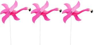 Sunnylife Flamingo Garden Wind Fans (Set of 3)