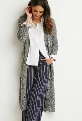 FOREVER 21 Marled Knit Midi Cardigan $29.90 thestylecure.com